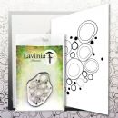 Lavinia - Clear Stamp - Blue Orbs